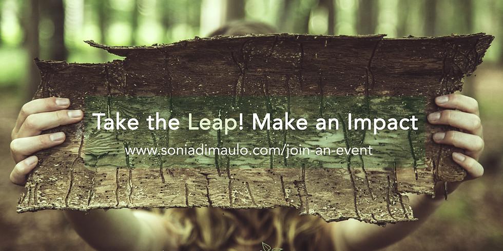 NEW Programs: Take the Leap! Make an Impact Fall 2019