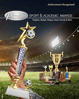 Premier Sport academic awards catalog.jp