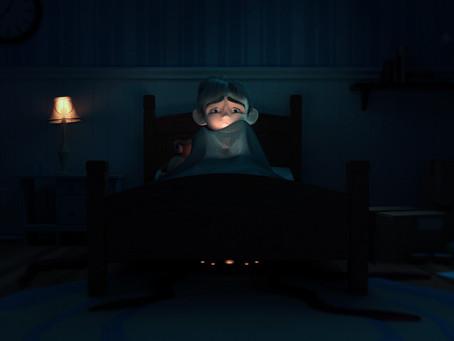 A criatura debaixo da cama