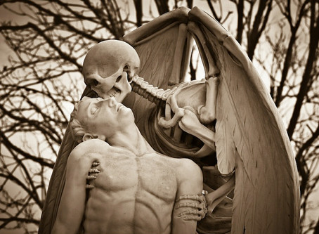 O beijo seco da morte