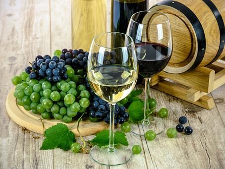 Um brinde com vinho