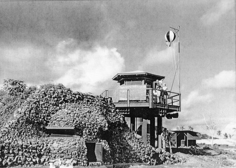 WWII Tafuna Air Control Tower