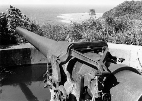 Blunts Point Battery during WWII