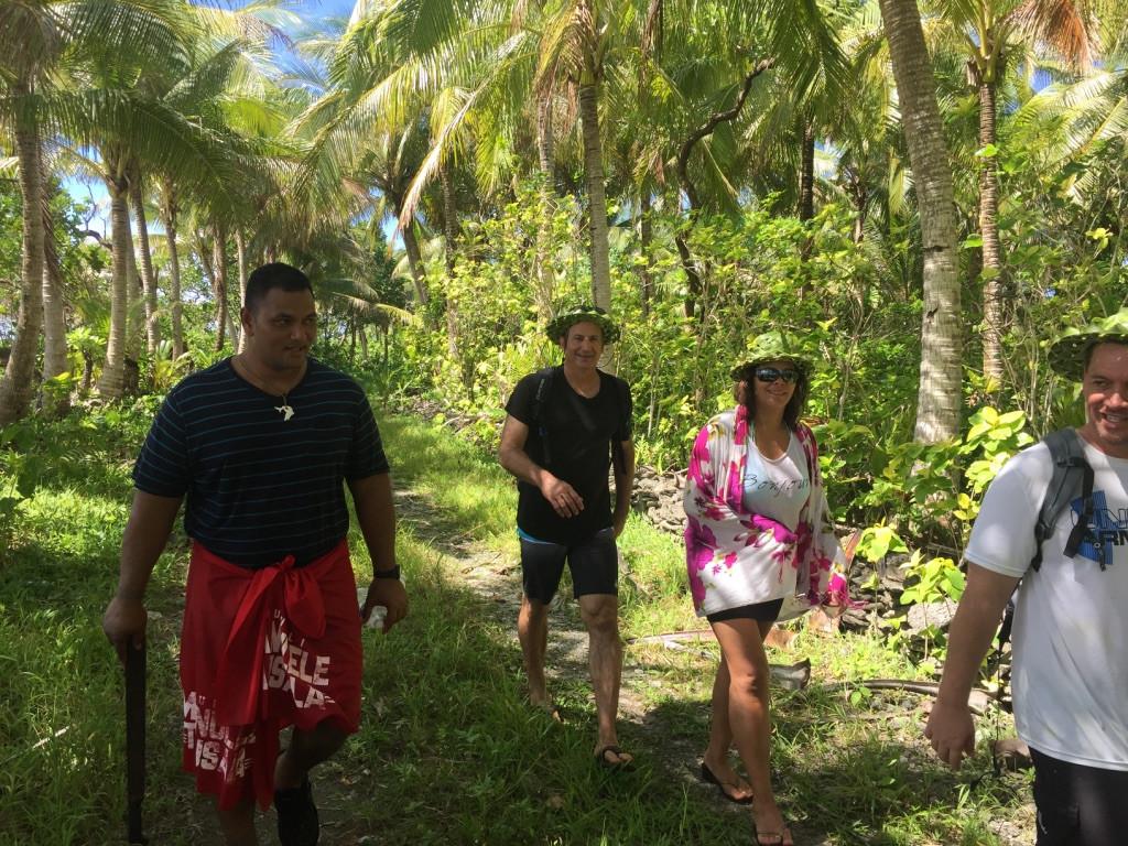 Short hike to taro patch
