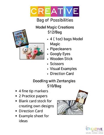 bag of possiblities doctors office pg. 1