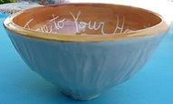 be true to your heart outside bowl white