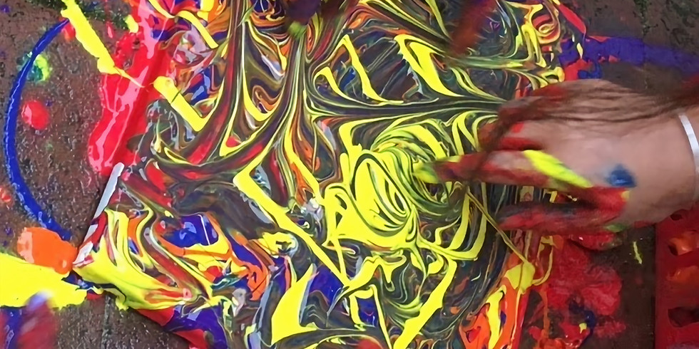 Chakras & Fingerpainting