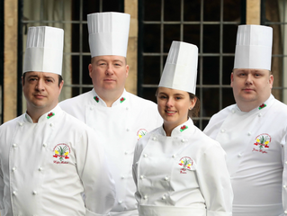 Good luck to our chef Sergio Cinotti INTERNATIONAL SALON CULINAIRE Welsh National Culinary Team.