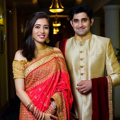 Anirudh weds Swetha
