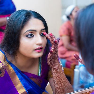 RJ Anjana weds Sairam