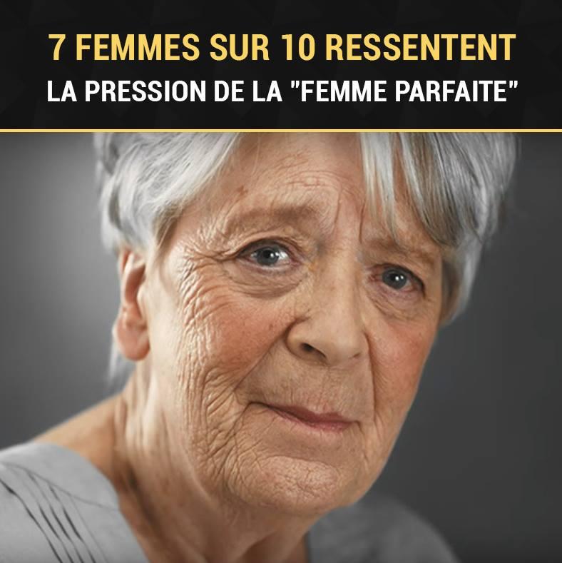 7 femmes sur 10 ressentent la pression d'être une « femme parf...