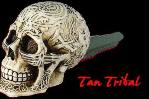 Tan Tribal Skull