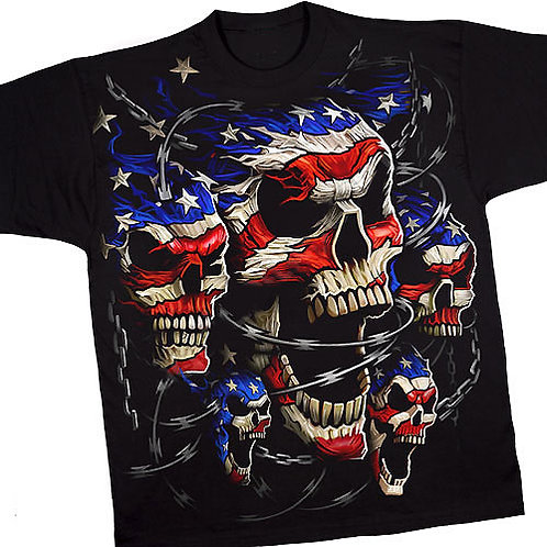 Patriotic Skulls