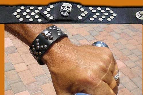 Leather Wrist Bands