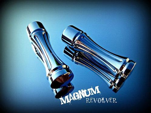HD Chrome Revolver Magnum foot pegs