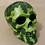 Thumbnail: Resin Cast Skull Paperweights