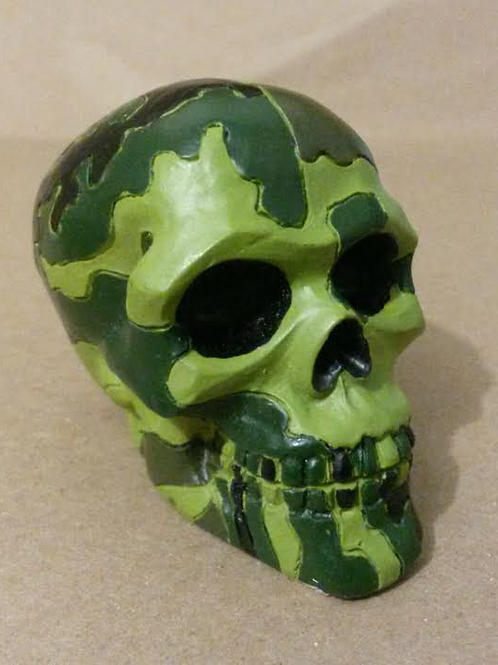 Resin Cast Skull Paperweights
