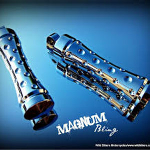 Metric/Victory Chrome Silencer Magnum foot pegs