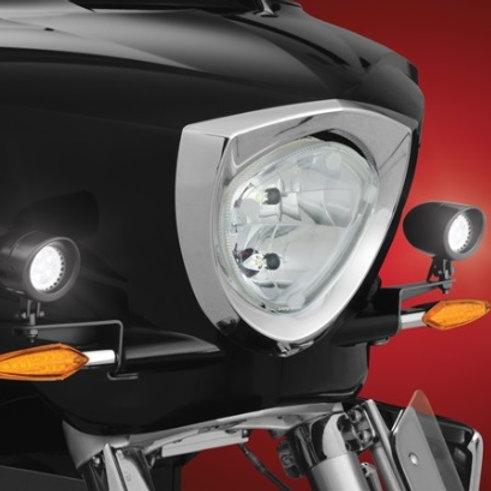 XC Mini Black LED Light kit with Brackets