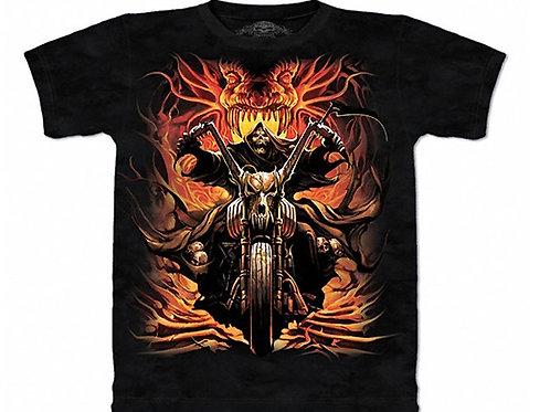 Grim Rider Stone Washed