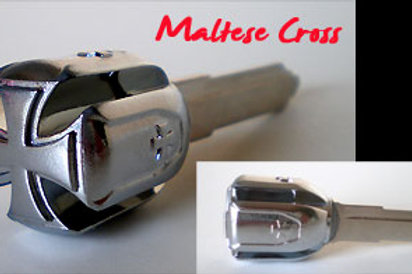 Chrome Maltese Cross
