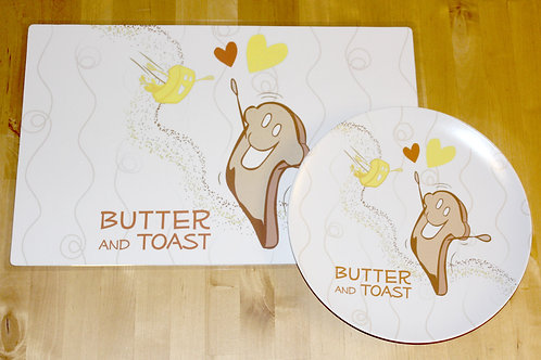 Butter and Toast Placemat