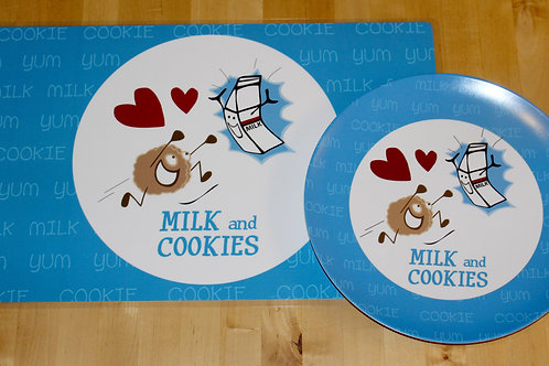 Milk and Cookies Placemat