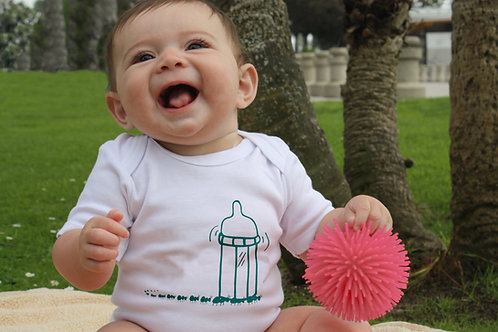 Baby Bottle Picnic Ants White Infant bodysuit/onesie or Tshirt