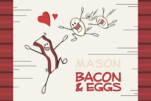 Bacon and Eggs Placemat