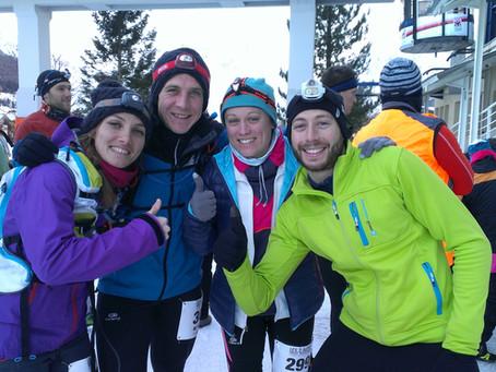 Le partage de ma passion pour le trail. Le compte rendu du Winter Trail des 2 Alpes par Noémie et Ca