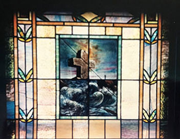 Preservation Stained Glass by Crystal Lady