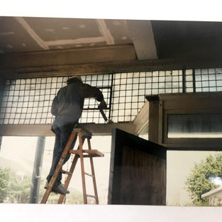 Reinstalling the Luxfer Glass Transom