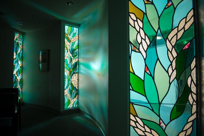Faith, Hope and Love Chapel Windows