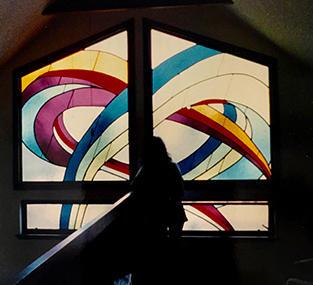 Contemporary Church Window