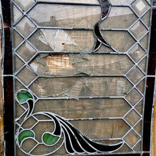 Damaged glass needs to be recut to exact size.