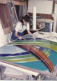 michaele cutting glass.jpg