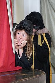 daphne behind curtain.JPG