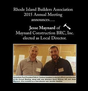 Jesse Maynard Local Director or RIBA