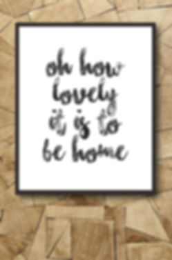 monochrome bespoke print perfect for a new home gift