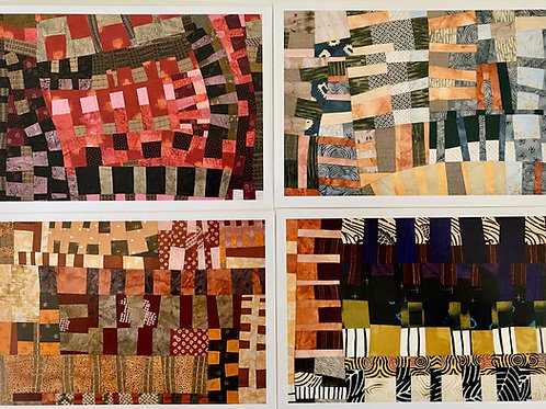 CARDS: Quilts (set of 8)
