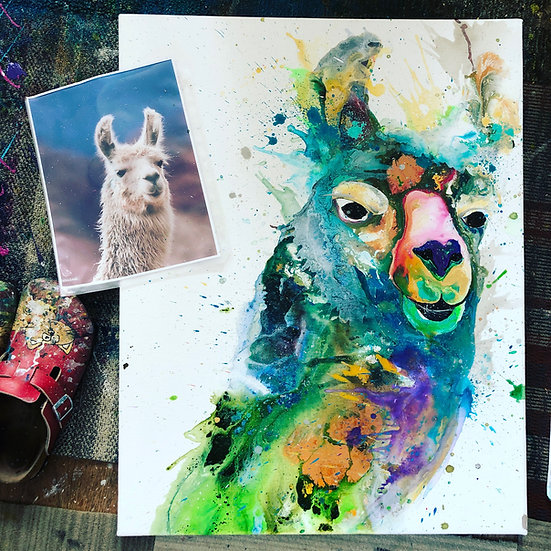"36""x48"" Pet Portrait"
