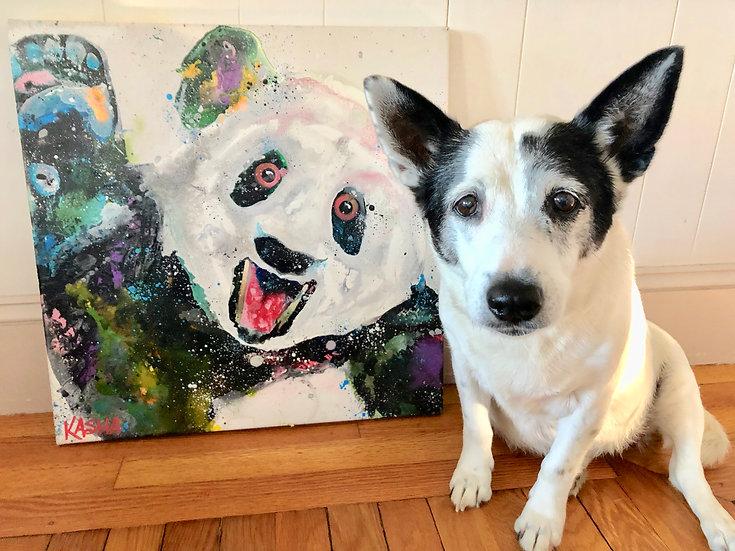 """8""""x8"""" Pet Portrait"""