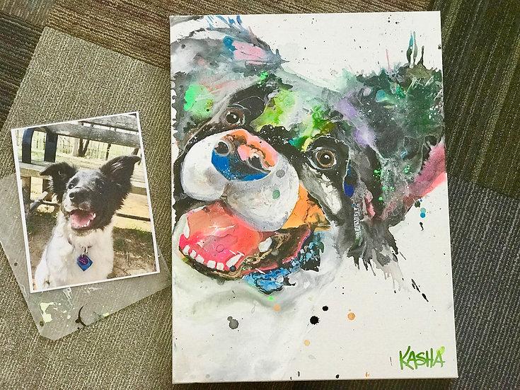 """11""""x14"""" Pet Portrait"""