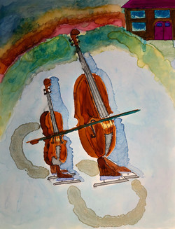 Cello-Bass Duet
