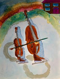 Cello-Bass Duet