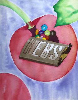 Cherry-Covered Chocolate