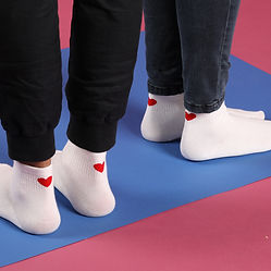 Heart Socks