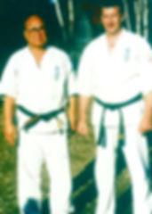 Shihancho with Sosai