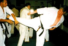 Shihancho 7th Dan Grading 2006