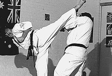 Shihancho Ushiro Mawashi Geri 1979
